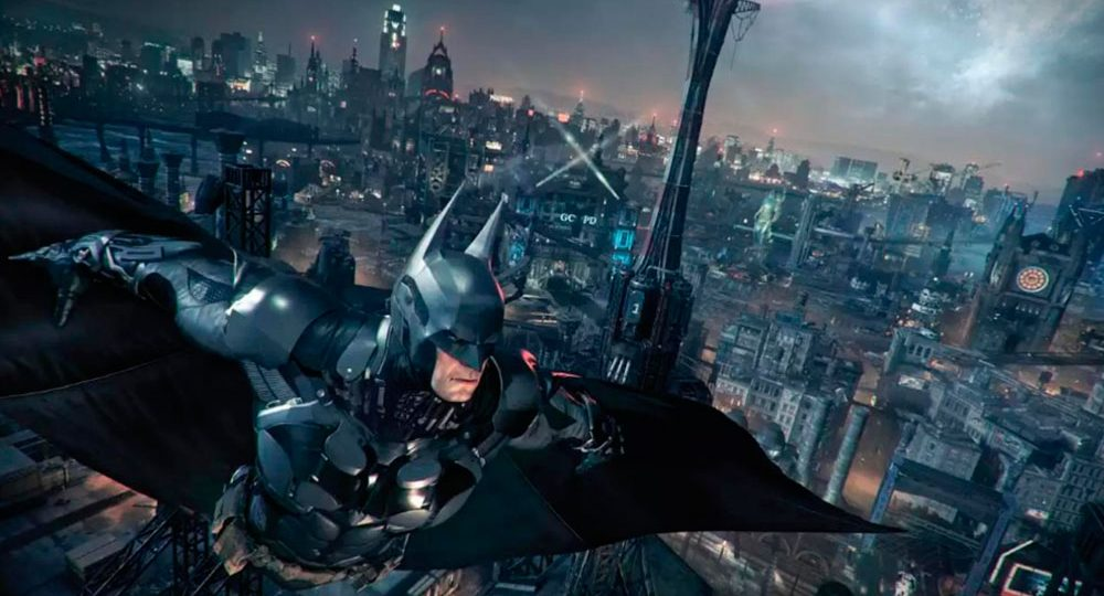 I am Vengeance. I am the Night. I am Batman!