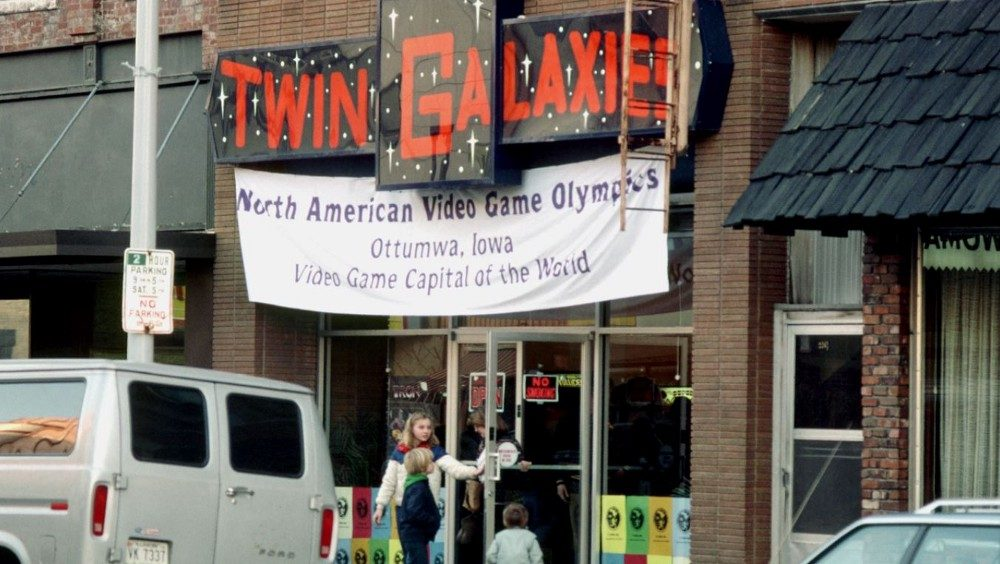 Casa de arcade Twin Galaxies em Ottumwa, Iowa, EUA